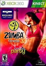 ZUMBA FITNESS 2010 XBOX 360 Game DANCE Exercise Kinect Required Complete vg