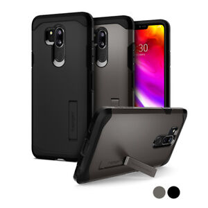 on sale 71e23 3b250 Details about LG G7 ThinQ Case | Spigen® [Tough Armor] Shockproof Dual  Layered Hard PC Cover