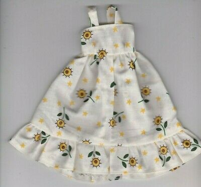 Doll Clothes-Leopard Print Sundress fit Barby Doll-Homemade ES1