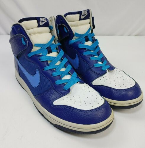 Nike SB dunk high size 11.5 Blue And White
