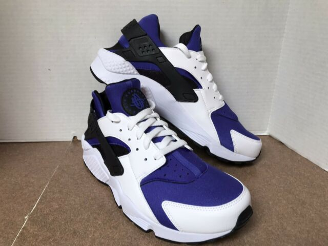 Nike Air Huarache Run SE Running Mens Shoes White Black AT4254-100 Size 11