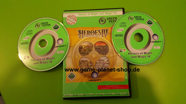 Heroes of Might and Magic 4 RGP Rollenspiel PC Game of the Year