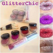 Glitter Lips set 4xHOT Colours!! Party,Valentine,Hen,Lipstick by GlitterChic