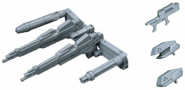 Bandai HG Build Custom 014 POWERED ARMS POWEREDER 1/144 Scale Kit