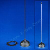 Vhf 150-162 Mhz Nmo 1/4 Wave Antenna Chrome