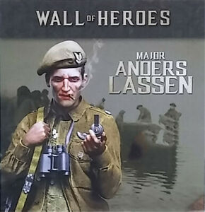 1-35-Unpainted-Major-Anders-Lassen-Resin-Kits-GK-Unassembled