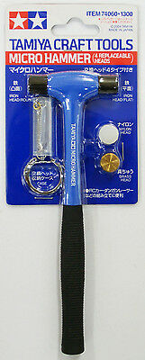 Tamiya 74060 Craft Tools - Micro Hammer (4 Replaceable Heads)