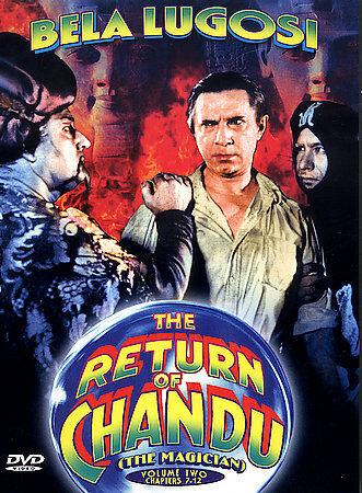 The Return Of Chandu, Volume 2 DVD, 2002  - $8.00