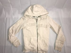 c6ca14ad Image is loading WOMEN-039-S-AEROPOSTALE-FUR-LINED-HOODIE-TAN-