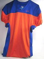 Eastbay Men's Ball Hawk Game Football Jersey,orange/royal,polyester,medium,new