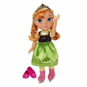 Ice-Skating-Princess-Anna-Frozen-Toddler-Doll-Disney-3-Years