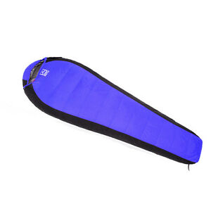 Duck Down Waterproof Mummy Camping Sleeping Bag Outdoor Gear -25℃~10℃ Blue New
