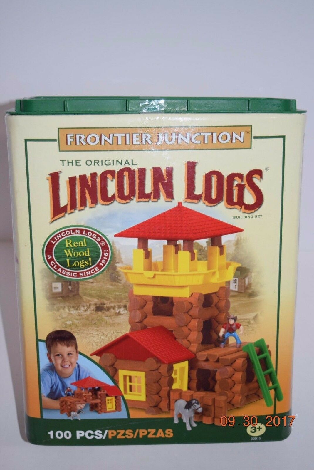 The Original Lincoln LogsFrontier JunctionBoy/Girl3+ 100 PCClassic Toy NEW