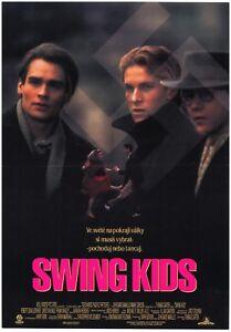 Details About Swing Kids Orig Czech A3 Movie Poster 1993 Christian Bale Robert Sean Leonard