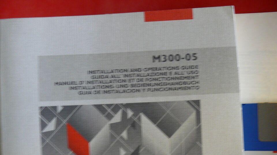 Olivetti M300-5, Manual