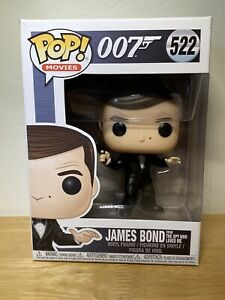 New Movies 522 James Bond 007 James Bond From The Spy Who Loved Me Funko Pop