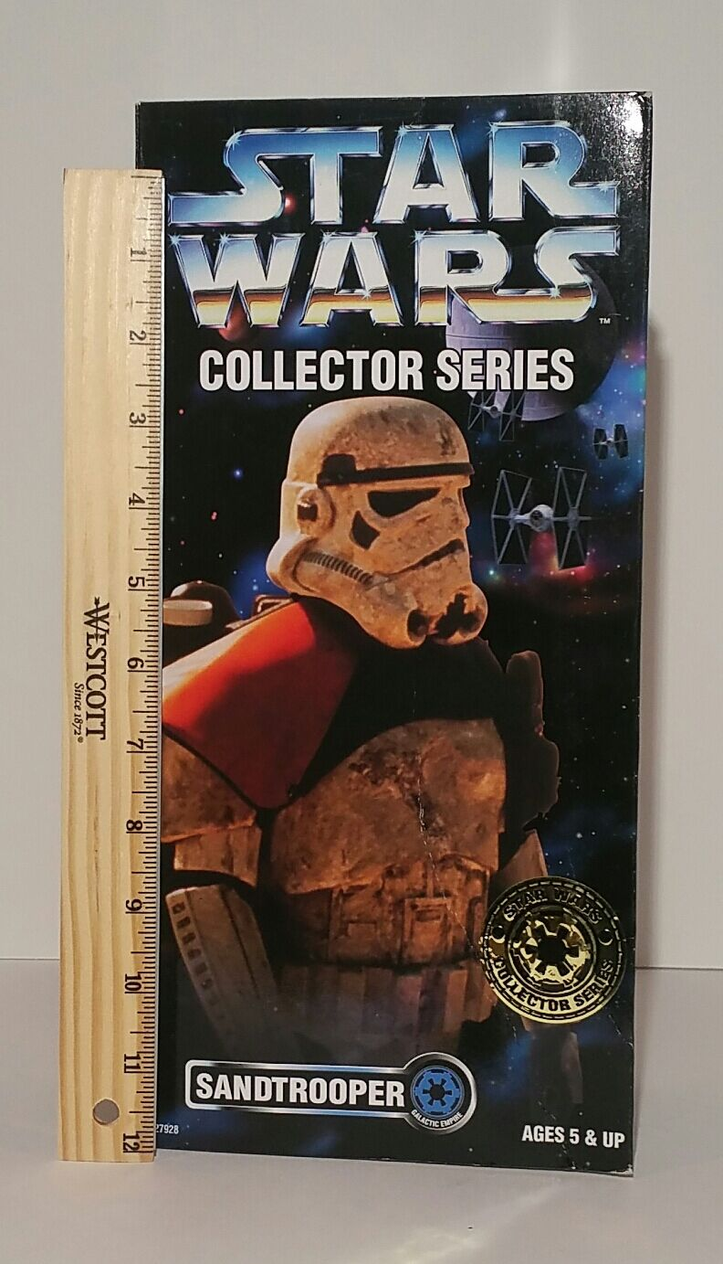 Star Wars Sandtrooper orange Shoulder Collector Series RARE    1996 MIB