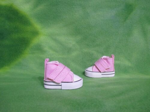 """PINK SNEAKERS SHOES STRAPS FOR PAOLA REINA 13.5/"""" DOLLS ACCESSORIES COLLECTIBLES"""