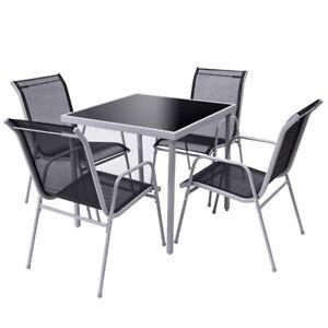 image is loading us ship outdoor garden furniture set steel frame - Garden Furniture Steel