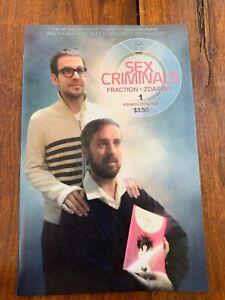 Sex-Criminals-1-4th-Printing-Image-Comics-Rare-HTF-VF-NM-Graphic-Adult-Content