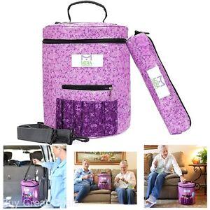 Premium Large Knitting Tote Bag - Yarn Storage Bag For Ultimate Organizing