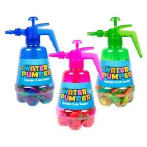 2-IN-1-AIR-WATER-BOMB-BALLOON-PUMP-KIDS-OUTDOOR-GARDEN-FUN-WITH-300-BALLOONS-SET