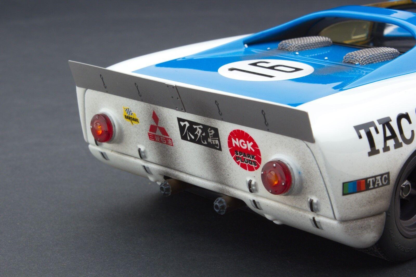 Course Patiné   Exoto Tac Course Porsche 910-6   1 18    MTB00064CFLP