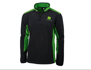 Genuine-John-Deere-365-Two-Tone-Fleece-Pullover-Men-Women-Clothing-Christmas