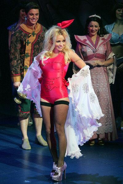 Gorgeous Bordello 5.75  Heel Rosa Glitter Platform Show Show Show Bow Dancer Pumps 8 9 22e423