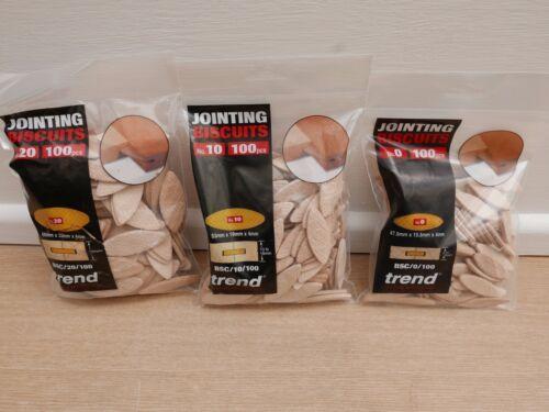 3 x Packs de 100 Taille 0 10 /& 20 tendance dressage chevilles biscuits