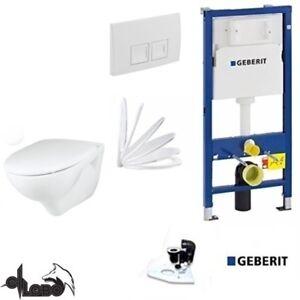 geberit duofix vorwandelement up 100 grohe bau wand wc sp lrandlos set ebay. Black Bedroom Furniture Sets. Home Design Ideas