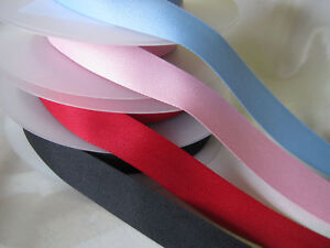 25mm HERRINGBONE POLYESTER  x 3 or 5 metres TWILL TAPE