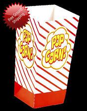 Gold Medal 2066 100 8 Oz Popcorn Scoop Boxes Popcorn Machine Supplies