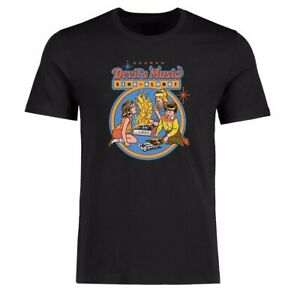 Funny Men T-shirt Music Sing Along Graphic Tee Cotton Short Sleeve Shirt