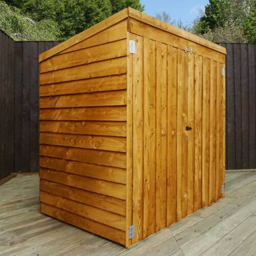 WOODEN GARDEN STORAGE SHED 5ft x 3ft TOOL LAWN MOWER TOY WOOD STORE SHEDS 5 x 3