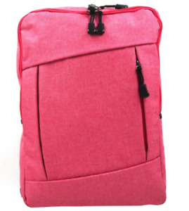 Everyday Deal Jhe Canvas Backpack Unisex Men/Women School Daily Backpack(PINK)