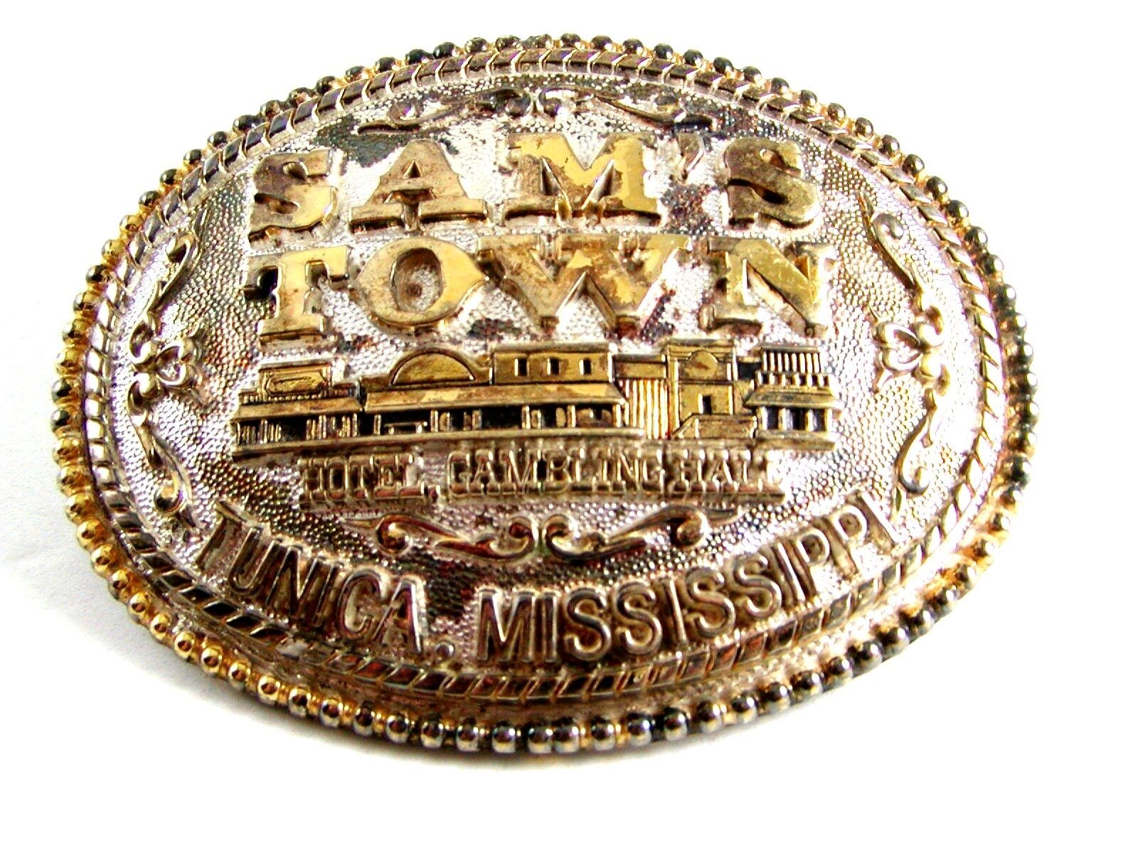 Sam's Town Tunica Mississippi Belt Buckle by ADM 12022013
