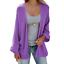 Women-039-s-Open-Front-Sweater-Long-Sleeve-Cardigan-Loose-Jacket-Coat-Tops-Black thumbnail 13