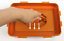 BPA-Free-Korean-Red-Clay-HWANGTO-Vacuum-Airtight-Kimchi-Container-2-7L-6-3L thumbnail 2