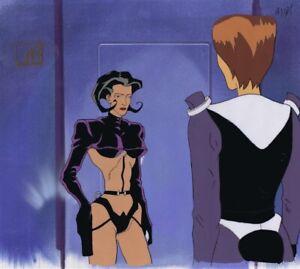 AEON-FLUX-Original-Production-Cel-Cell-Animation-Art-MTV-Liquid-TV-1990s-Talking