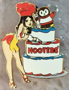 Enjoyable Hooters Restaurant 2004 Sexy Hot Waitress Girl Pin Girl Owl Baker Funny Birthday Cards Online Hendilapandamsfinfo
