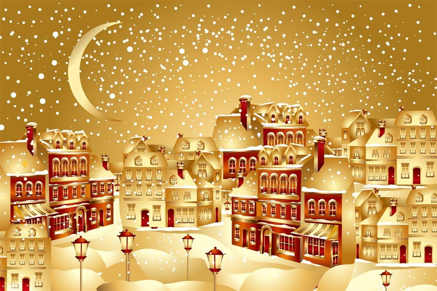3D Schnee City 88 Tapete Wandgemälde Tapete Tapeten Tapeten Tapeten Bild Familie DE | Lebhaft  | Deutschland Frankfurt  | Abgabepreis  7f3787