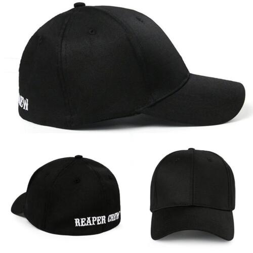 SOA-Son of Anarchy Reaper Crew Fitted Baseball Cap Hat