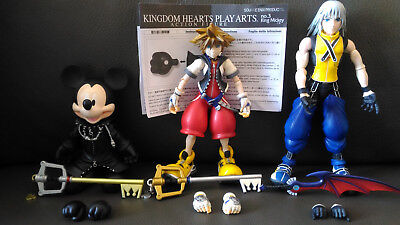 Kingdom Hearts MICKEY MOUSE No.3 Action Figure SQUARE ENIX Play Arts NO BOX