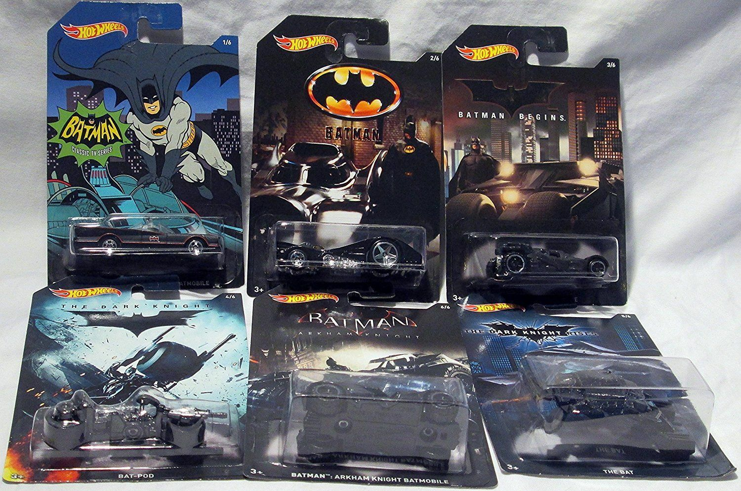1955 chevy stepside tow truck black jada toys bigtime - Hot Wheels 2015 Batman Bundle Set Of 6 Exclusive Die Cast Vehicles