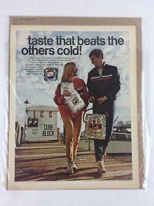 Pepsi-Cola-Olympics-1968-Vintage-Print-Collectible-Advertisement-10-25-x-13-25