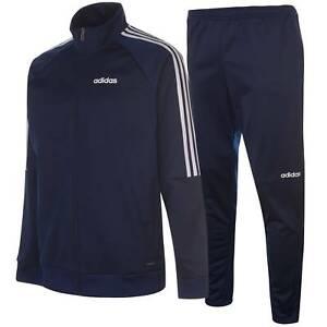 adidas-Kids-Boys-Sereno-Tracksuit-Junior-Long-Sleeve-Zip-Full-ClimaLite-Stripe