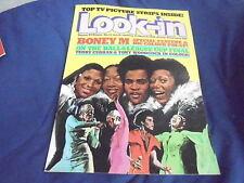 #12 MARCH 17 1979 LOOK IN tv movie magazine BONEY M
