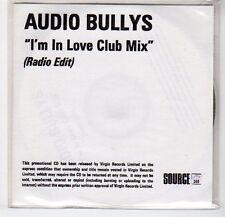 (EF303) Audio Bullys, I'm In Love Club Mix - DJ CD