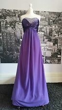 Grecian style Sequin Dress (Purple) Prom, Ball, Pageant, Bridesmaid, Cruise etc